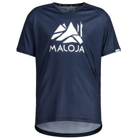 Maloja SanetschM. Multi 1/2 Shortsleeve Multisport Jersey Men night sky